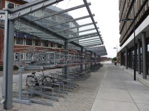 Doppelstöckige Fahrradständer
