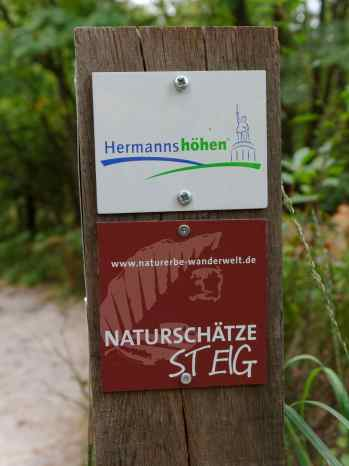 Naturschätze Steig der Name ist Programm
